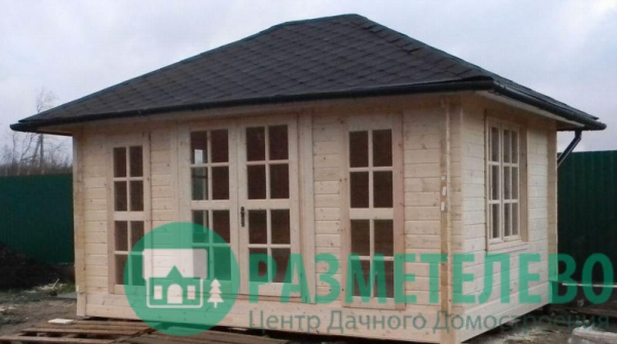 Беседка - домик гриль 5х4 м