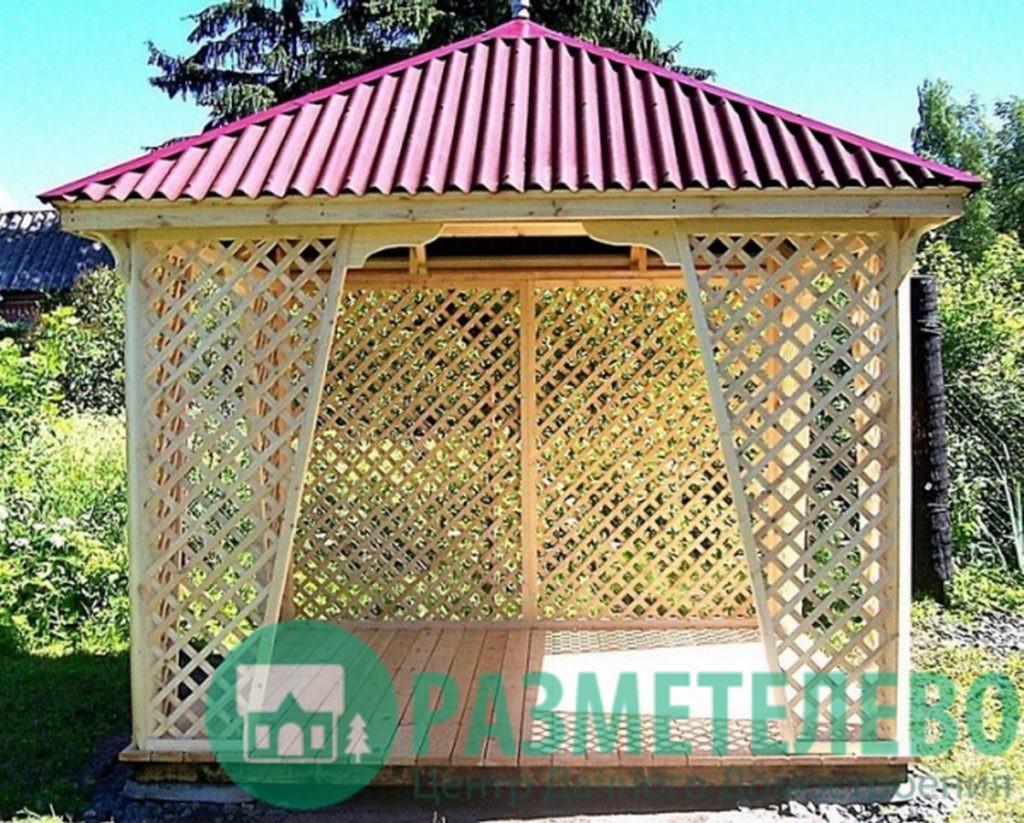 Беседка-шатер 3х3 м