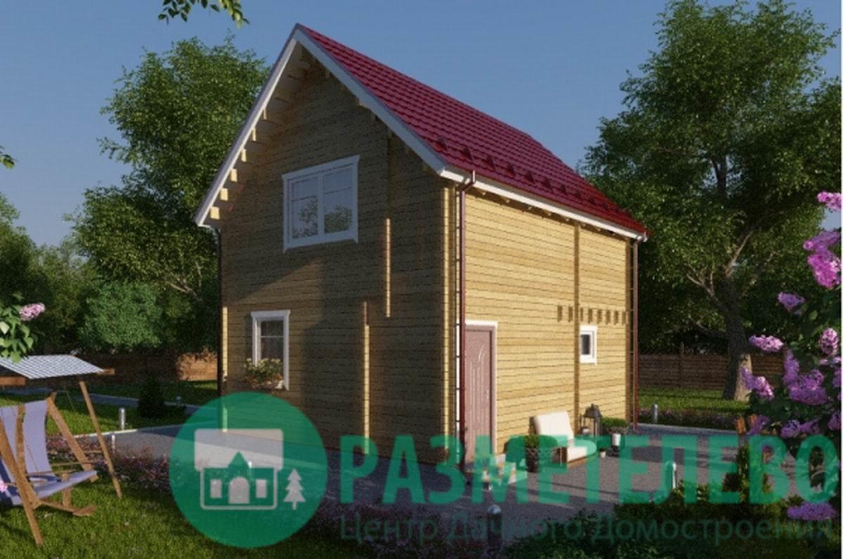 """Дачный двухэтажный дом """"Альтена"""""""