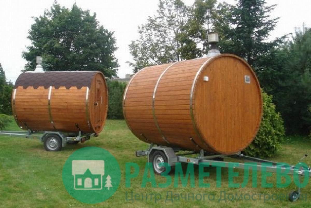 Мобильные (перевозные) бани
