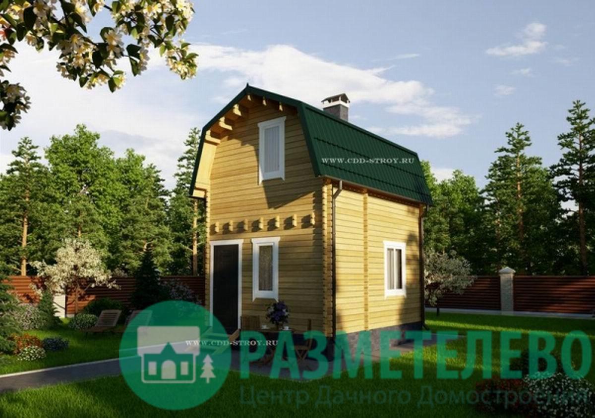 """Дачный двухэтажный дом 0700 """"Амилия"""""""