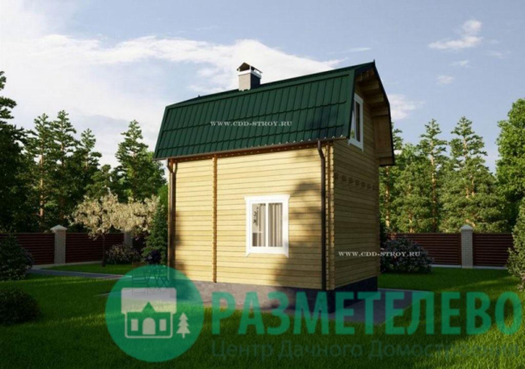 """Дачный двухэтажный дом """"Амилия"""" (0700)"""