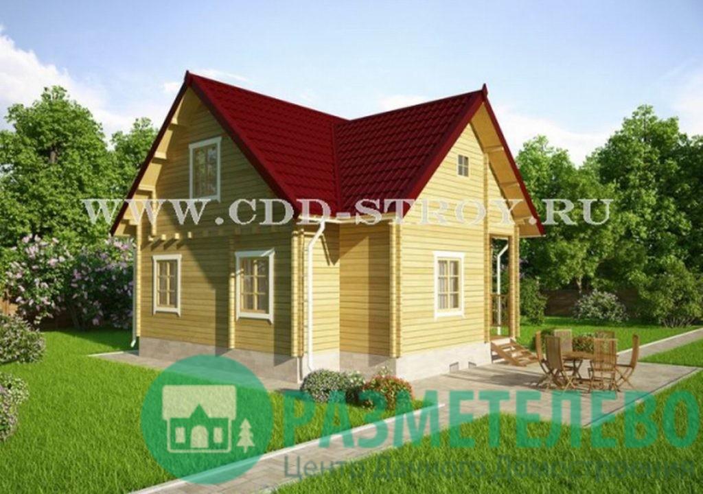 """Дачный двухэтажный дом """"Родшер"""" (1006)"""