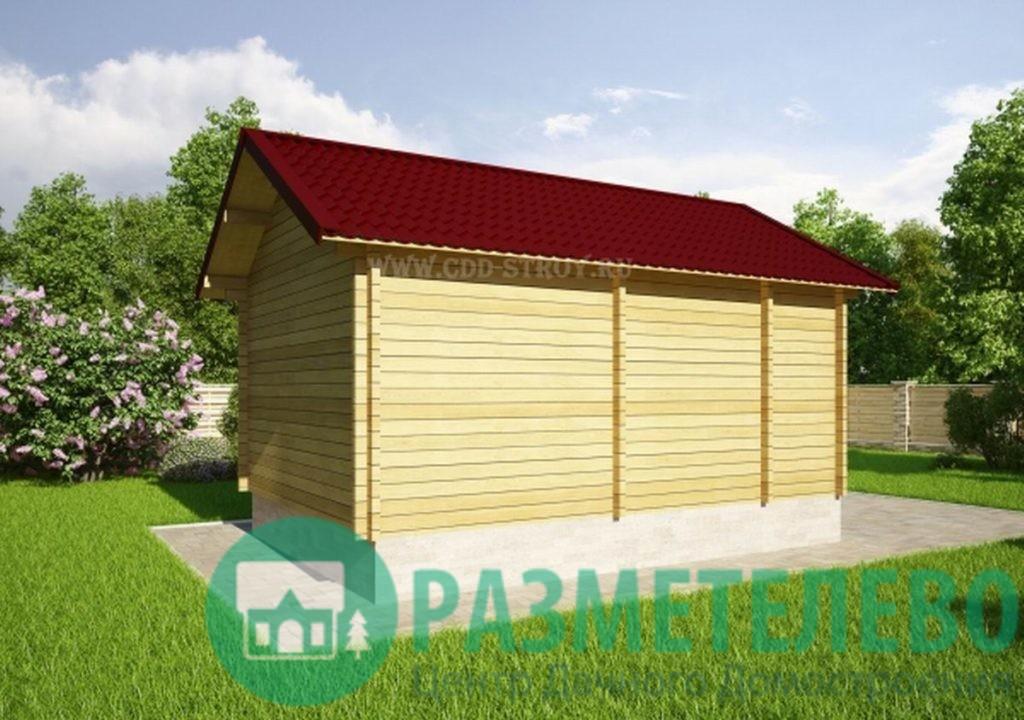 """Дачный двухэтажный дом """"Ланди"""" (20702)"""