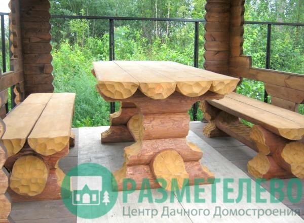 Набор Трансформер: Столик+2 скамьи = диван