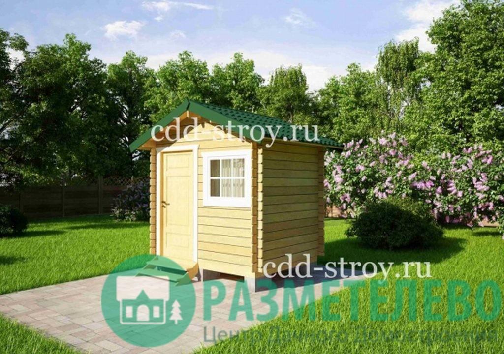 Домик садовый 2500х2000 (01)