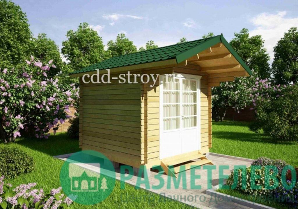 Домик садовый 3000х3000 (04)