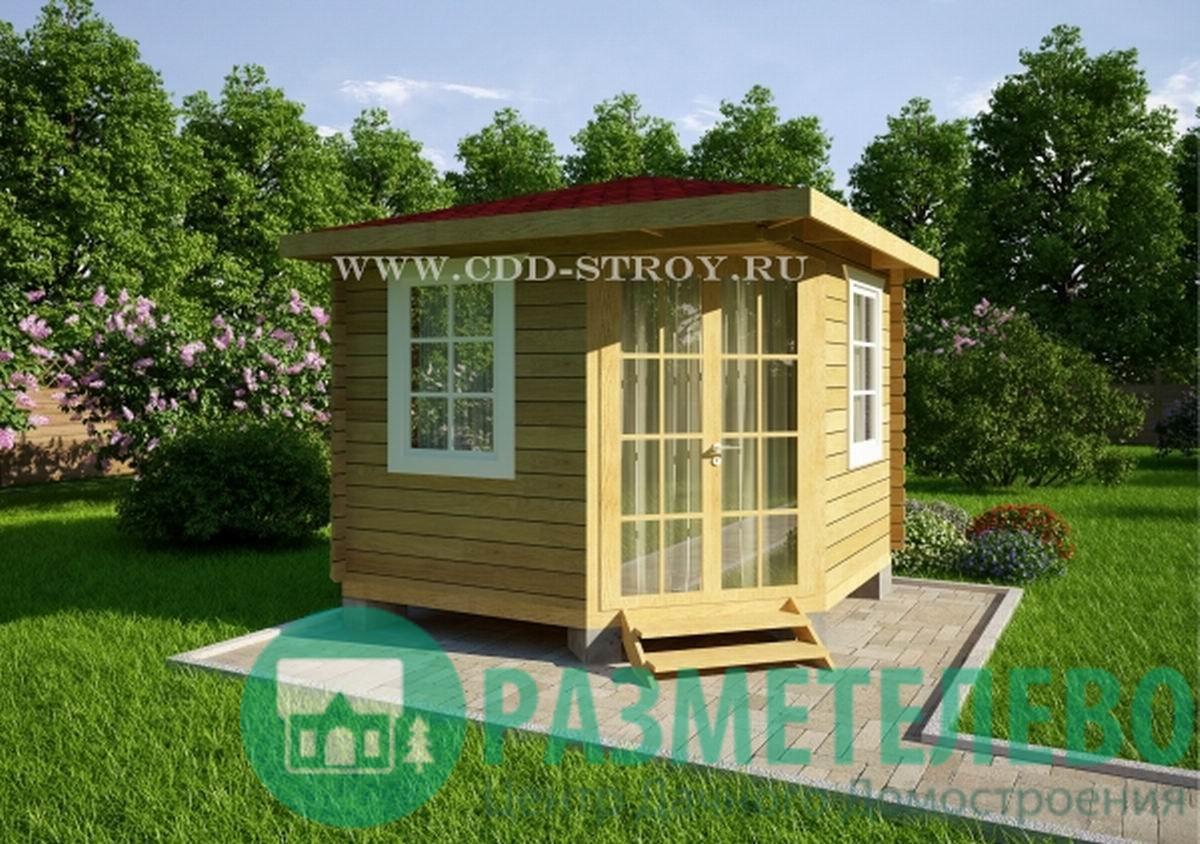 Домик садовый/Беседка 3000х3000 (06)