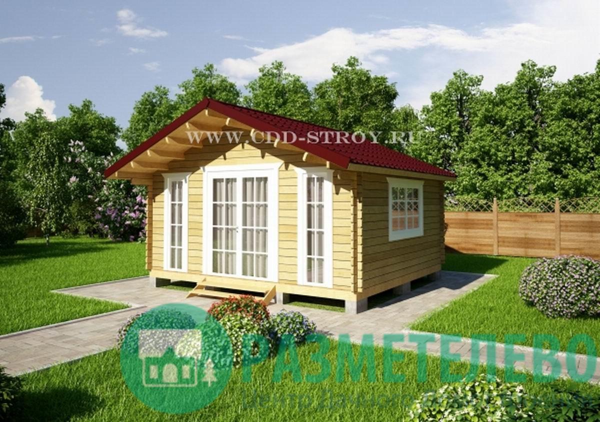 Домик садовый 5000х4500 (14)