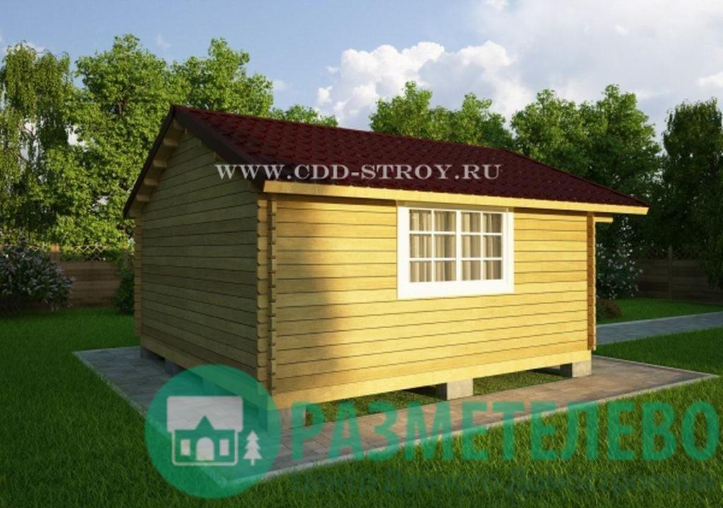 Дачный домик 5000х5000 (15)