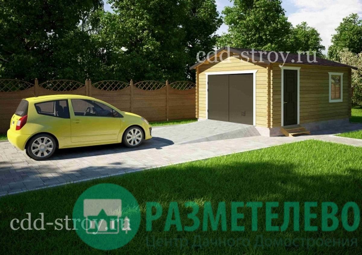 Дачный домик, гараж 5500х4000 (19)